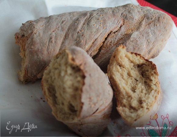 Медовый крученый хлеб на рассоле