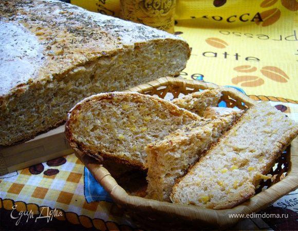 Хлеб из трех злаков
