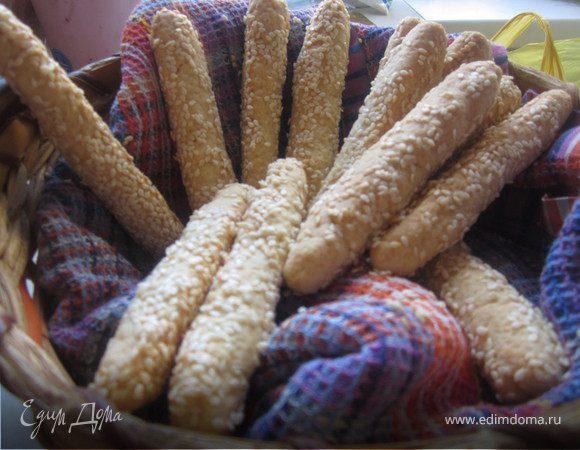 Сырные палочки в кунжуте