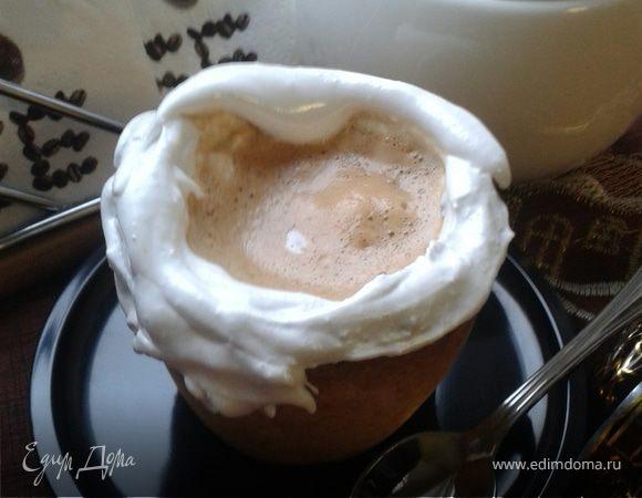 Имбирный кофе в съедобной кружке