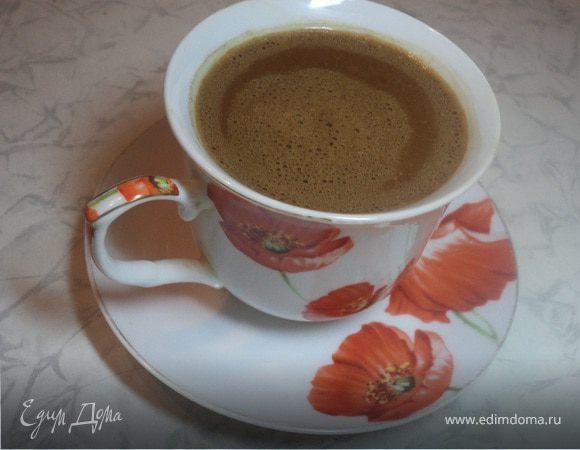 """Кофе """"Сказка"""" с черным шоколадом и сливками"""