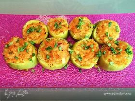 Фаршированные кабачки (постное блюдо)