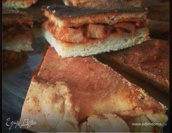 Морской пирог с кальмаром (Empanada)