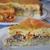 Заливной пирог с рикоттой и сайрой