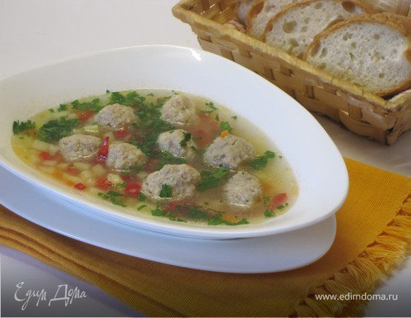 Суп с фрикадельками из фарша и риса рецепт пошагово в 44
