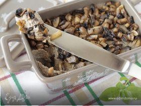 Печеночный паштет с грибами