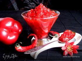 Конфитюр из перцев (Confiture de piment d,espelette)