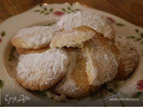Лимонное печенье с кориандром