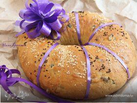 """Хлеб """"Тыквенное кольцо"""""""