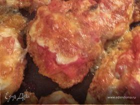 Куриная грудка с томатным соусом