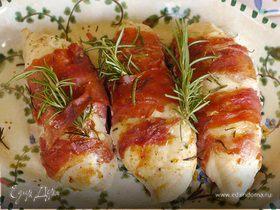 Куриные грудки, фаршированные козьим сыром и зеленью