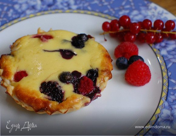"""Шоколадный кекс с рикоттой """"Осеннее кольцо"""" – кулинарный рецепт"""