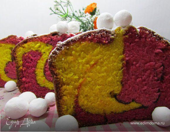 Малазийский красочный кекс