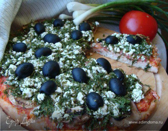 Пицца без муки по рецепту доктора Агапкина