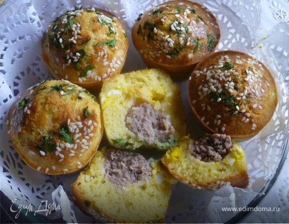 Мясные булочки