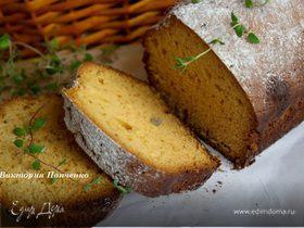 Медовый кекс с лаймом и тимьяном