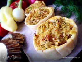"""Тарталетки """"Пикничок"""" с курицей и овощами"""