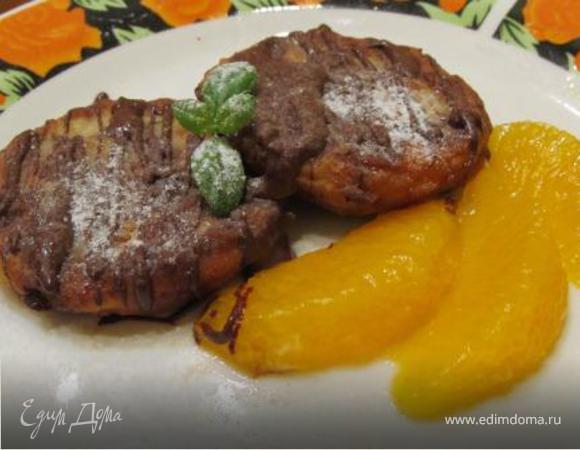 Сырники с шоколадом и апельсином