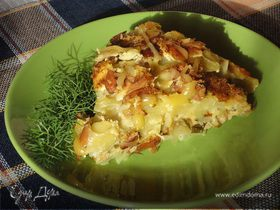Картофельный пирог от Юлии Высоцкой
