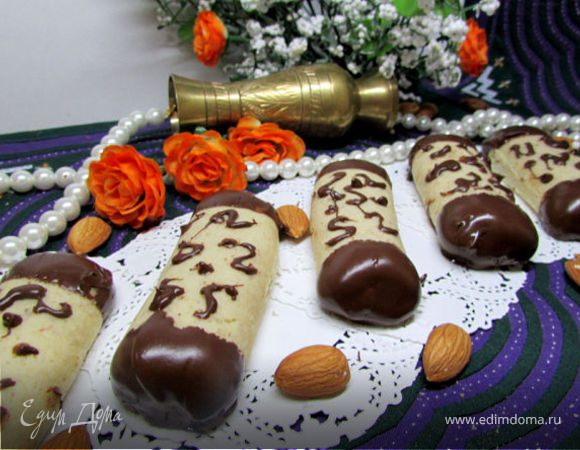 Алжирское миндальное печенье