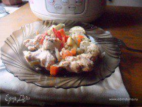 Курица с овощами