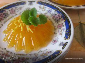 Морковно-цитрусовое желе
