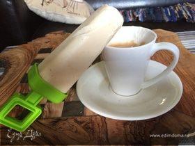 Ленивое кофейное мороженое