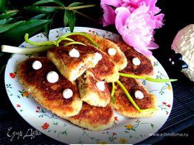 Картофельные зразы с печенью