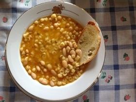 Паста с фасолью (Pastа e Fagioli)