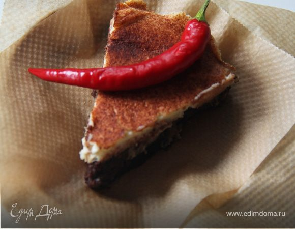 Трюфельный торт с перцем чили
