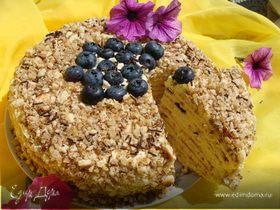 Торт «Творожный» на сковороде