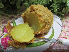 Запеченный картофель в хрустящей шубке