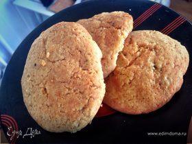 Остро-сладкое имбирное печенье