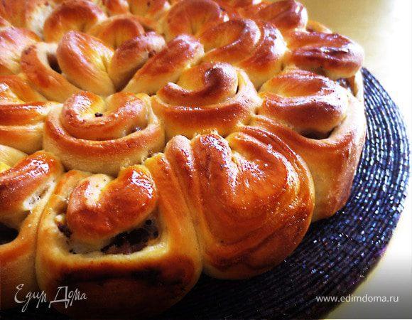 рецепт пирога с мясом пошаговый рецепт с