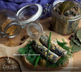 Жареная минога в маринаде