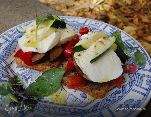 Вегетарианский клаб-сэндвич