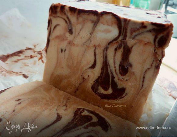 Семифредо шоколадно-арахисовое