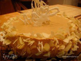 """Торт """"Шафран"""" с карамельным суфле"""