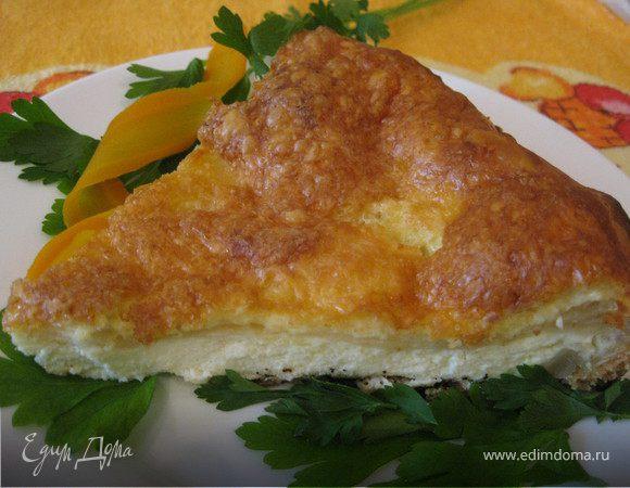 Горячий сырный паштет
