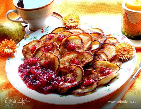 """Оладьи с фруктами """"Ассорти"""""""
