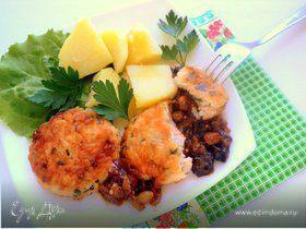 Котлеты рыбные с пикантным соусом