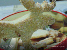 Печенье из песочно-дрожжевого теста