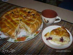 Плетеный пирог