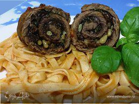 Рулеты из говядины по-неаполитански