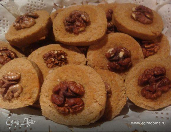 """печенье """"Сабле""""с гречневой мукой"""