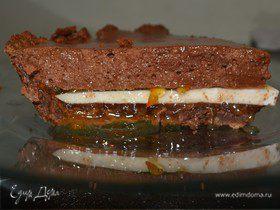 """Торт """"Тройной шоколад с маршмеллоу"""""""