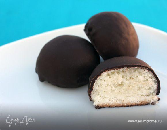 """Кокосовое печенье в шоколаде """"Баунти"""""""