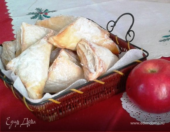 """""""Тапки"""" с яблоками"""