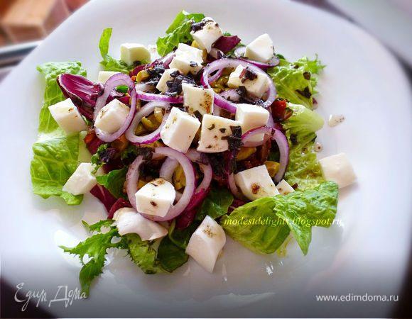 салат с вялеными помидорами рецепт вкусный