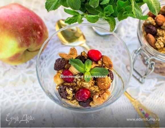 Яблочная гранола